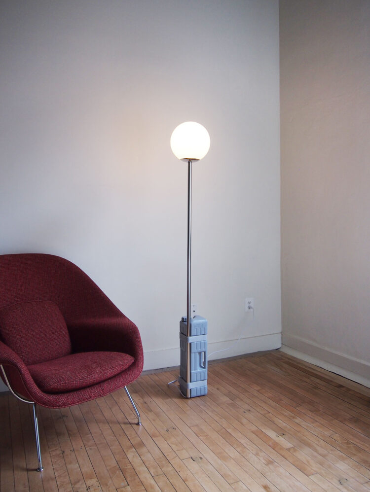 One Gallon Floor Lamp