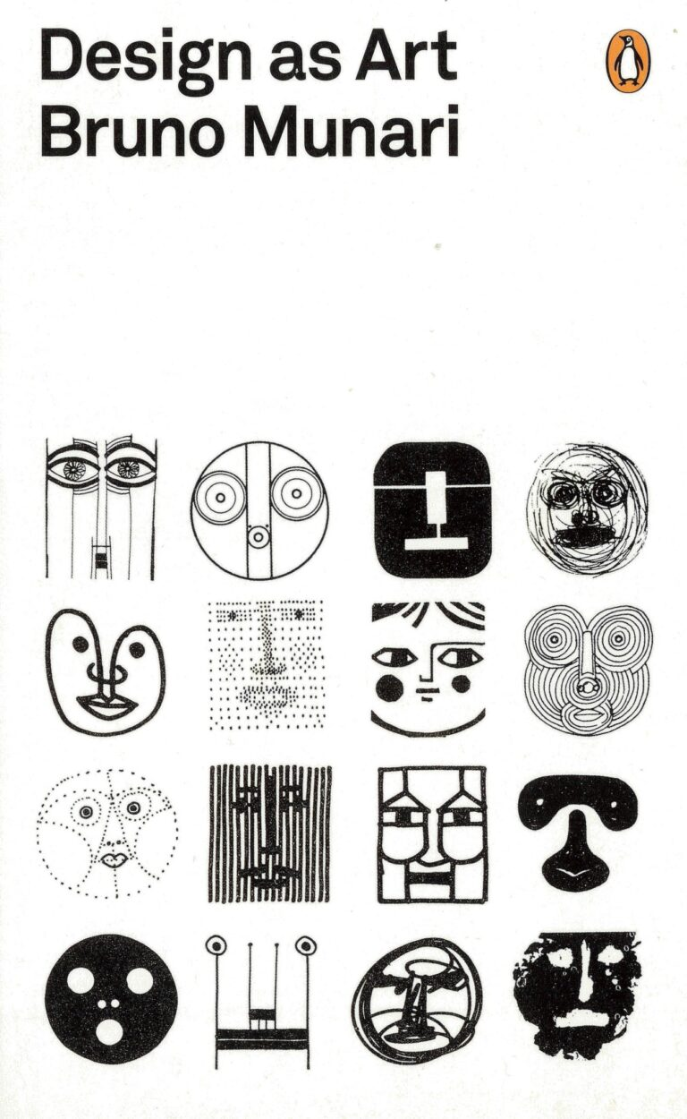 Bruno Munari Design as Art book