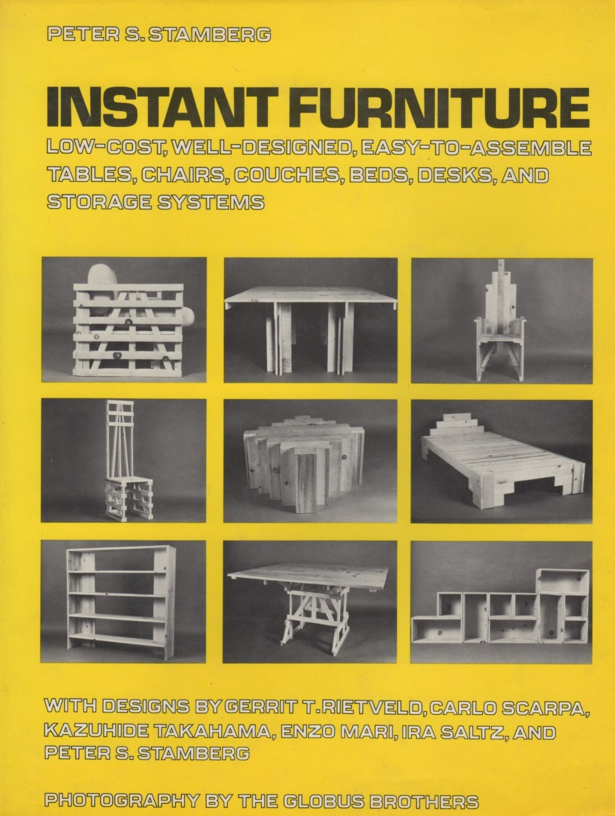 Peter Stamberg instant furniture DIY instruction design book