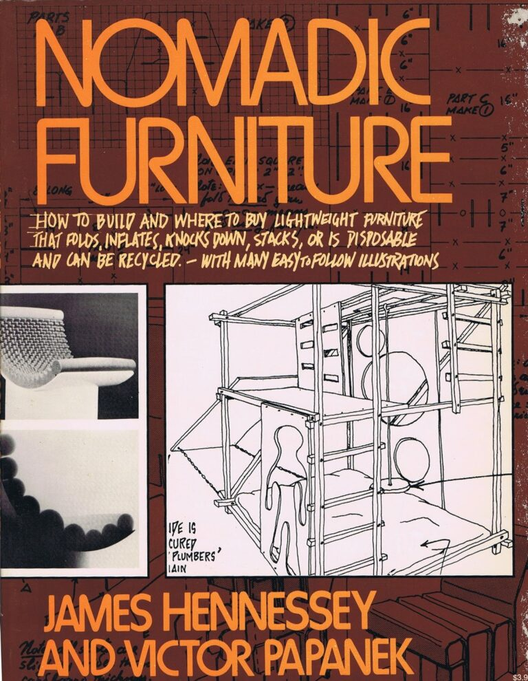 Victor papanek nomadic furniture DIY instruction book
