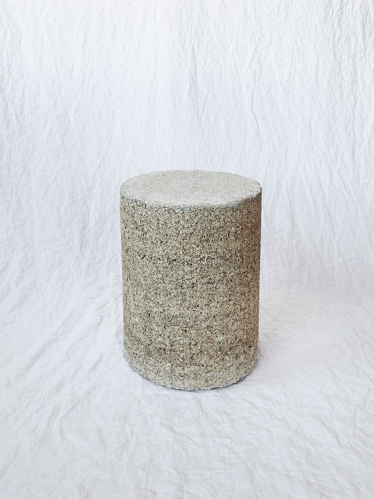 Hempcrete DIY Stool by Ian Anderson
