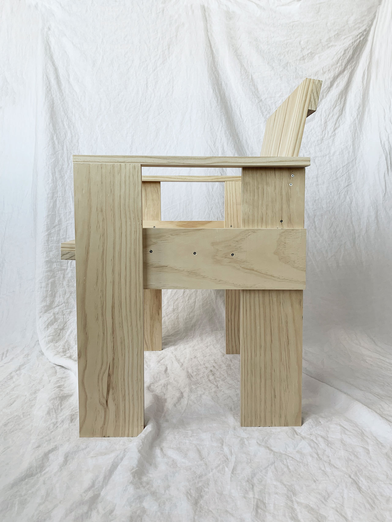 Crate Chair by Gerrit Rietveld